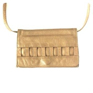 Kenneth Cole Bronze Convertible Crossbody Clutch